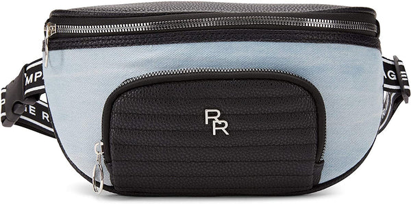 Women's Biker Sport Fanny Pack with Quilt Detail