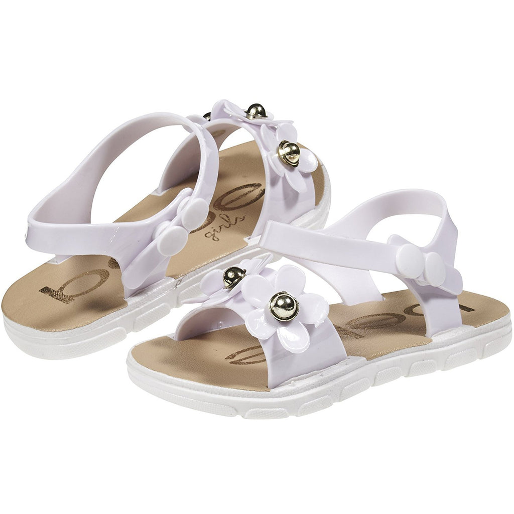 bebe Toddler Girls PCU Sandals Flowers