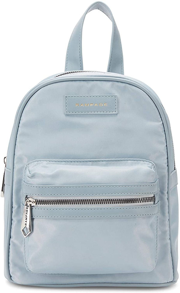 Women's Mini Nylon Backpack with Sanitizer Charm