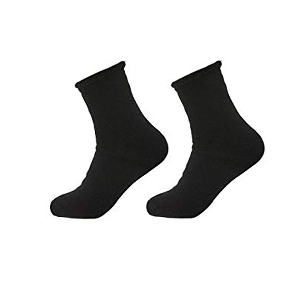 Mens Brushed Lined Thermal Heat Socks 2 Pack