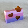 3 Butters + 3 Layers + 3 Hearts Beauty Soap Bar