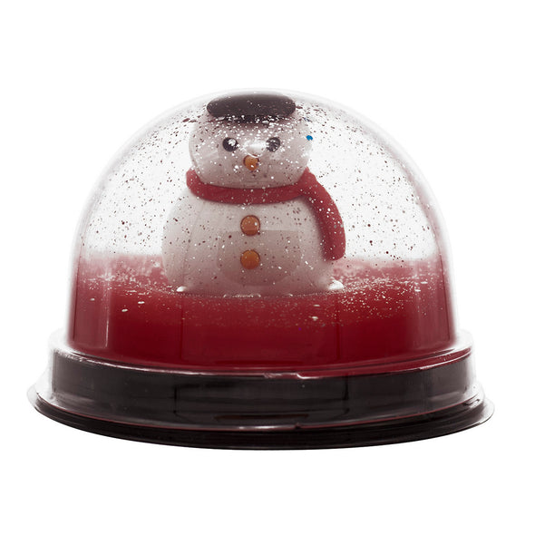 Snow Globe Soap with Snowman Eraser Prize