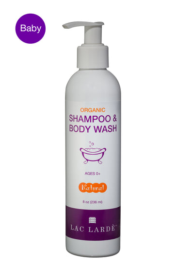 organic and natural Shampoo & Body Wash] - LacLarde.com