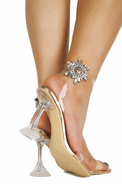 Mel Clear Heels - 33 Wishes