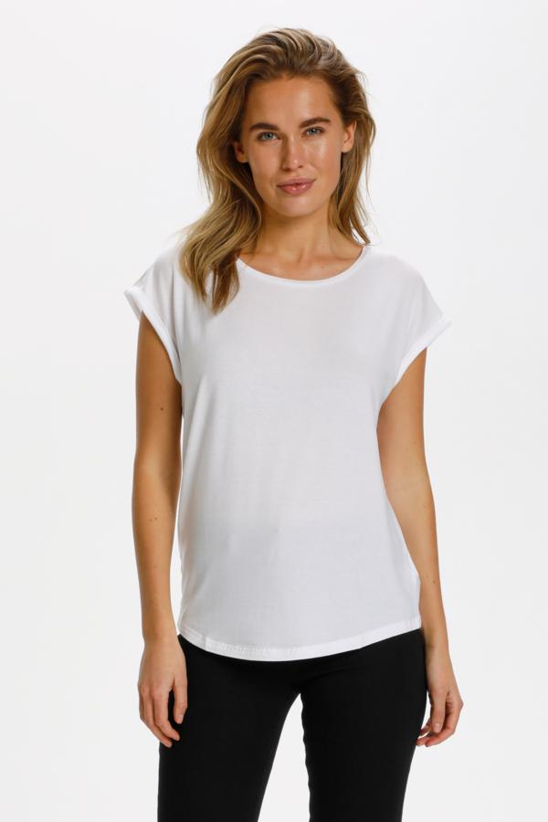 Saint Tropez Relaxed T Shirt Terracota
