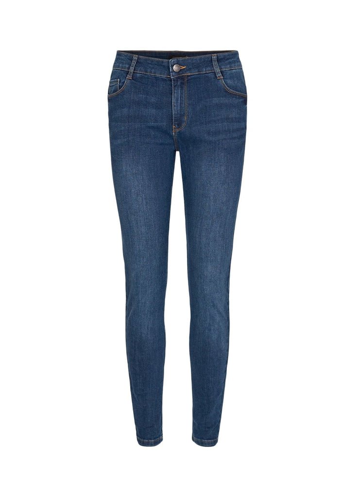 Soya Concept Denim Slim Jeans Mid Blue