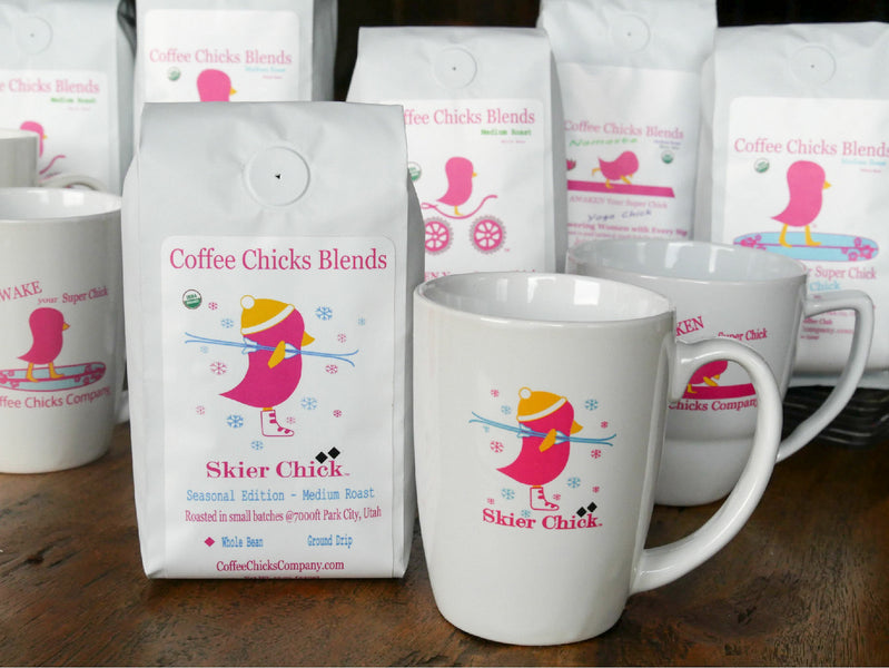Coffee Chicks Company:  the Skier Chick Blend - The Story Behind the Beans