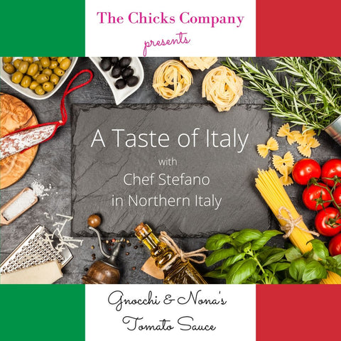 chicks cooking class - italy