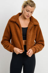 Fleece Bomber Jacket