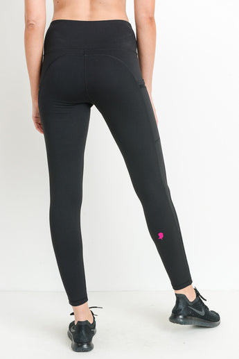Yoga Chick Highwaist w/Side Pocket Full Leggings
