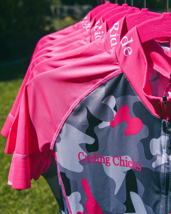Cycling Chicks Camo Jersey