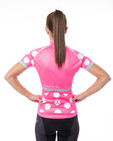 Cycling Chicks Ascent Polka Dot Jersey