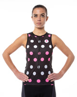 Tri Chick Top - Polka Dot