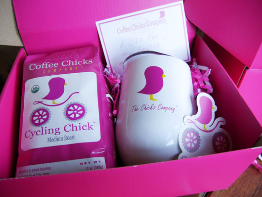 Coffee Chicks Gift Box Sets - Tumbler