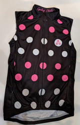 Cycling Chicks Climbers Polka Dot Sleeveless Jersey