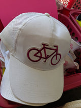 Cycling Chicks Purple Bike Hat