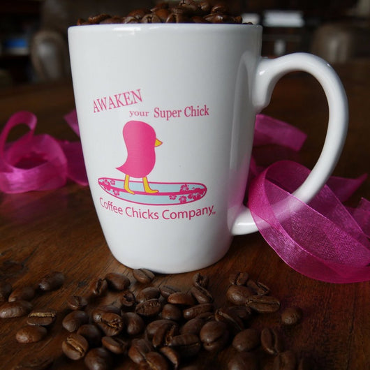 Coffee Chicks Mugs - Surfer Chick Java Mug