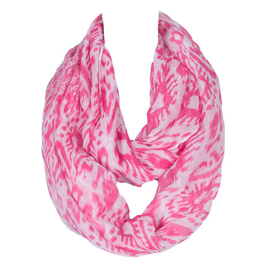 Cycling Chicks Pink Ring Scarf