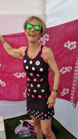 Polka Dot Runner Chick Skort