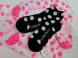 Cycling Chicks Climber Polka Dot Socks