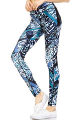 Blue Crush Full Leggings