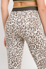 Snow Leopard Full Leggings