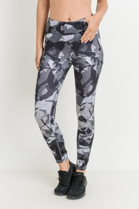 Kaleidoscope Camo Full Leggings