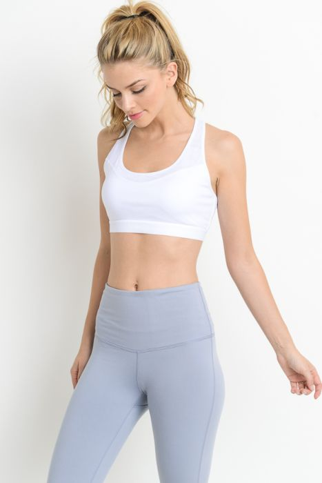 Yoga Chick Racerback Sports Bra