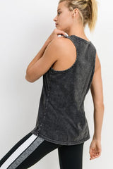 Mineral Wash Flow Tank Top