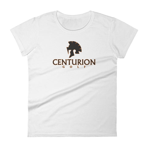 Women's short sleeve t-shirt- Centurion Golf