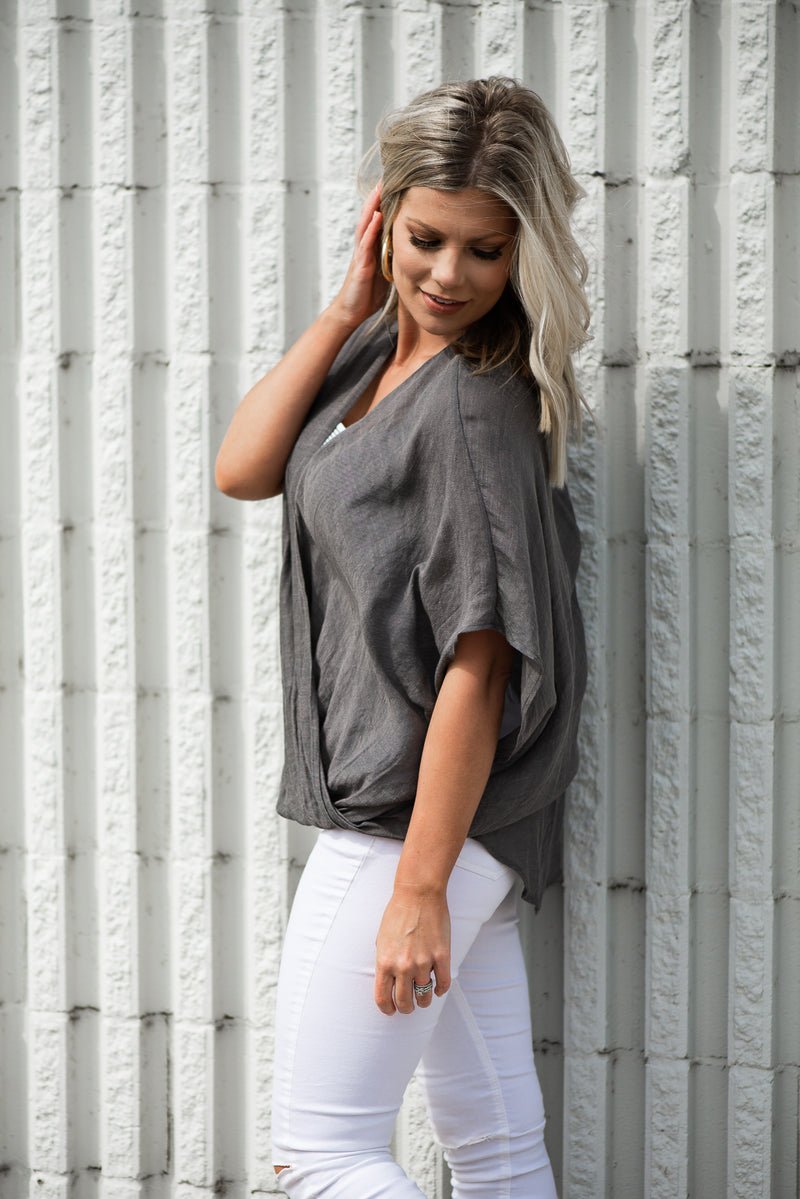 Willow Top {2 Color Options}