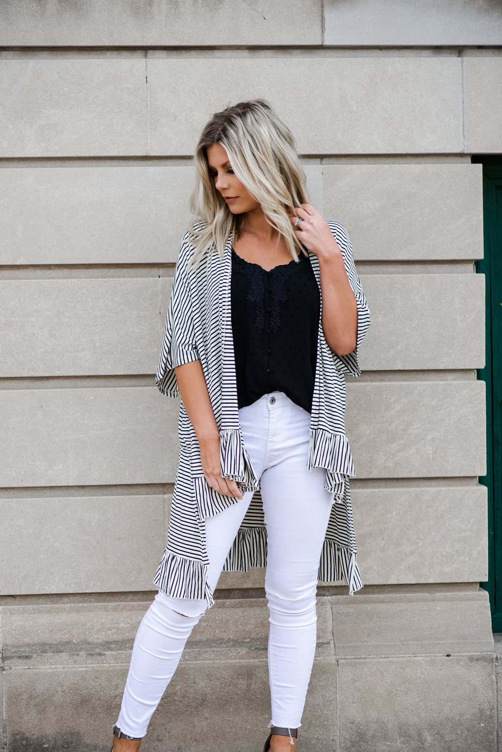 Alyssa Striped Cardigan