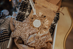 A Starry Holiday Gift Box