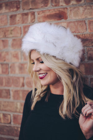 Ava Faux-Fur Headband {6 Colors}