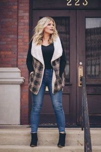 Zoe Sherpa Vest {3 Colors)