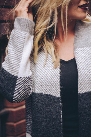 Emma Plaid Cardigan