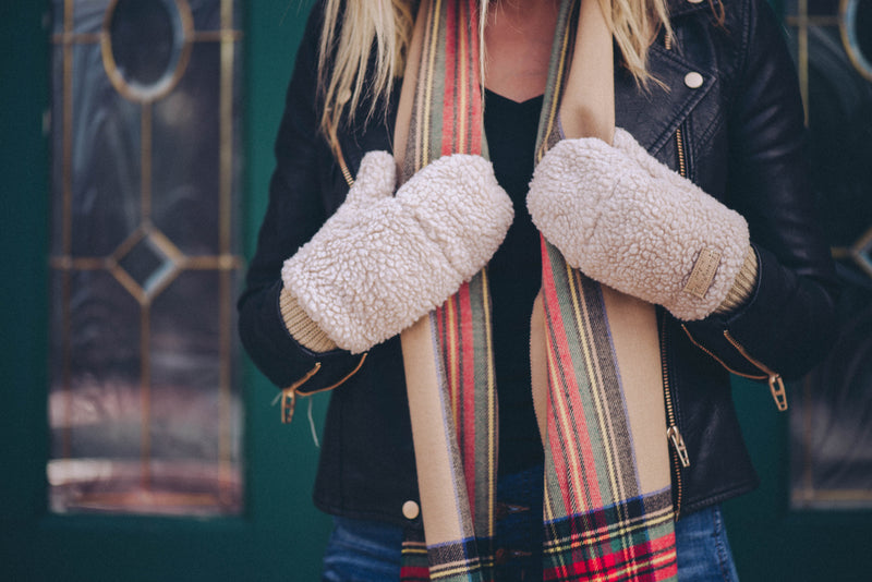 Sherpa Gloves {2 Colors}