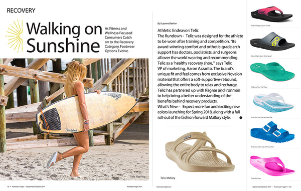 Telic Featured in Footwear Insight