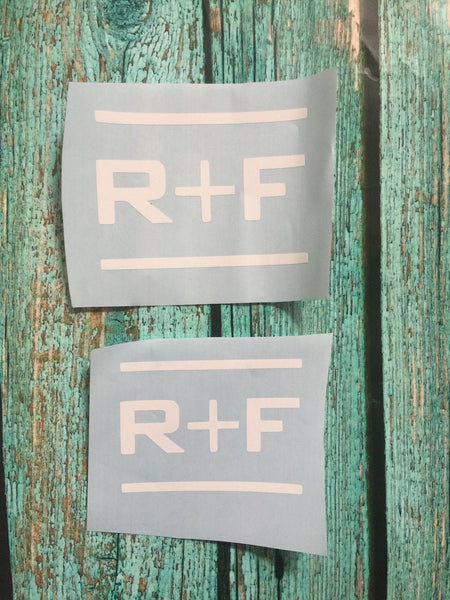 Rodan and Fields Decal, Car decal, Vinyl Decal, R+F , tumbler decal, Rodan & Fields Decal