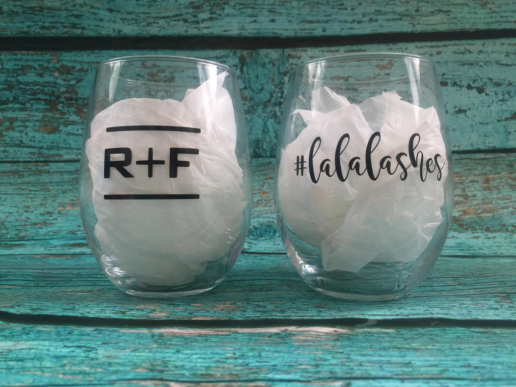 RF Rodan and Fields inspired Wine Glass, Boss Babe #lalalashes Lash Boost R + F Up line, promotions, Rodan and Fields RF PC