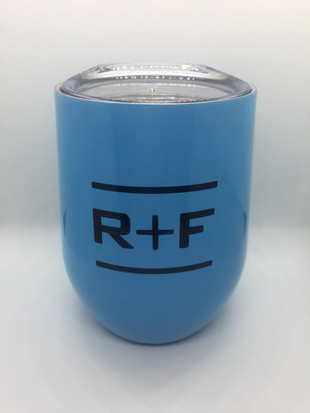 Rodan and Fields Wine Glass, Tumbler with Lid  R + F Up line, promotions, Rodan and Fields RF PC Perks, Team Name Rodan and Field
