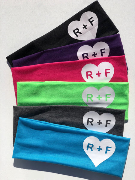 RF, set of 12 Rodan and Fields, Rodan and Fields Headbands, R+F,  headband, Rodan + Fields headbands, preferred customer gifts, PC perks, PC
