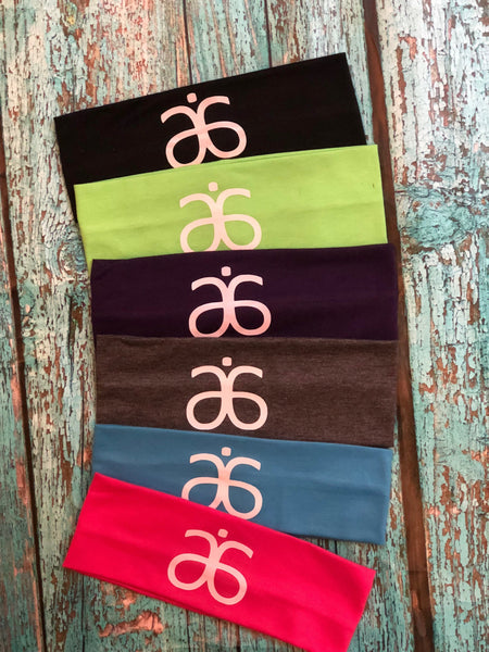 Arbonne Headbands set of 12 Assorted Colors - Stretch Elastic Headband Teens Women Girls Skin Care