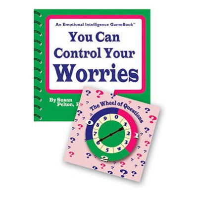 Emotional Intelligence Game Book You Can Control Your Worries product image
