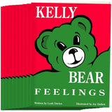 Kelly Bear Feelings Book, Set of 10