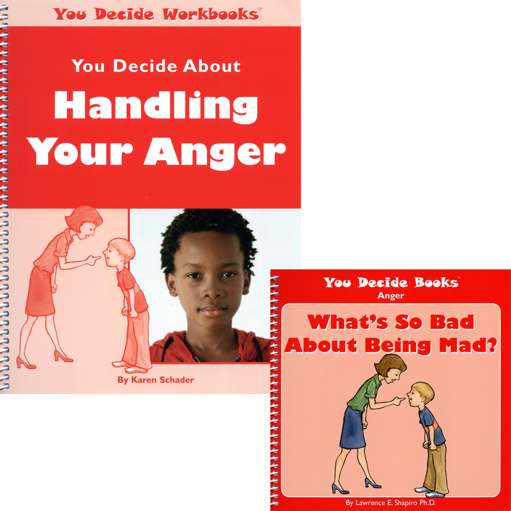 Workbooks anger workbook : You Decide About Handling Anger Book & Workbook with CD ...