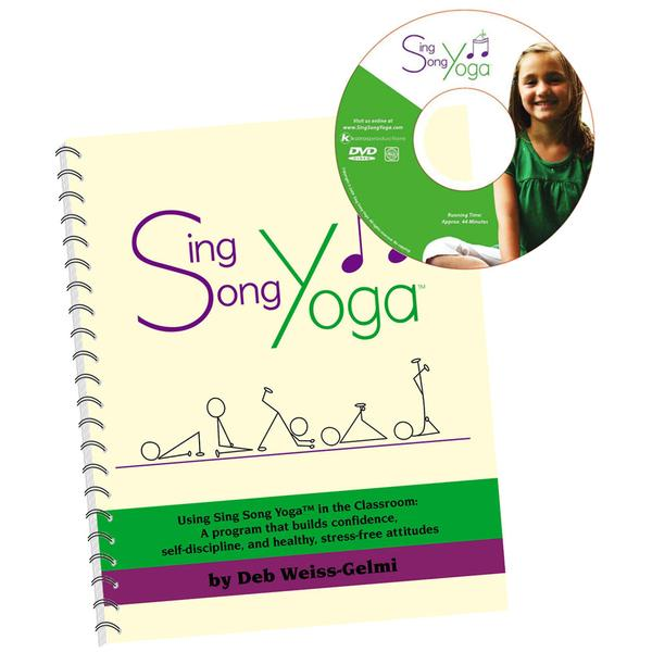 Sing Song Yoga Book with DVD