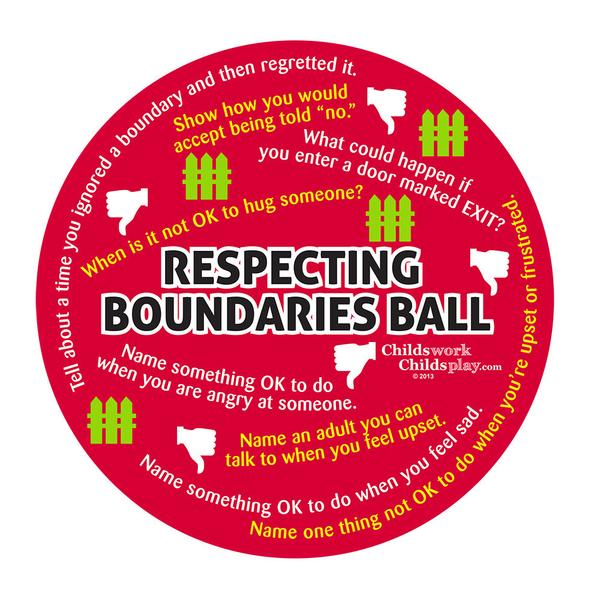 Respecting Boundaries Ball