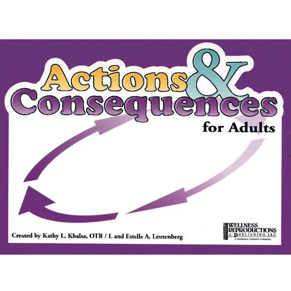 Actions and Consequences Card Game [adult version]