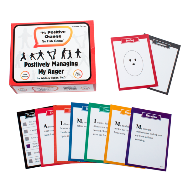 My Positive Change Go Fish Game: Positively Managing My Anger